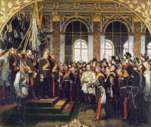 Kaiserproklamation in Versailles 1871